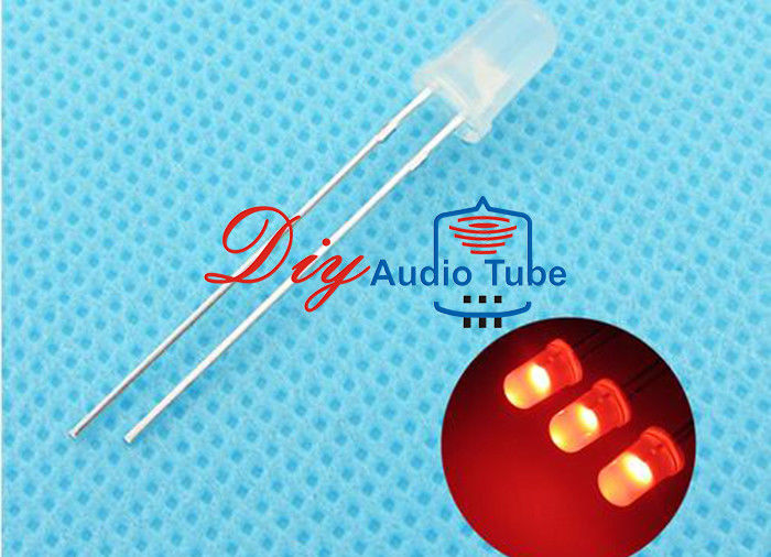 5MM Diffused DIY LED Diode Red Lighting Round Top Super Bright Light Bulb