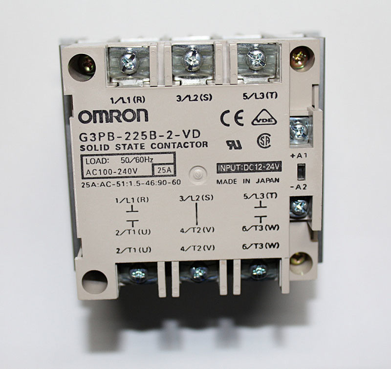 Omron solid state relay G3PB-225B-2-VD AC100-240V 25A