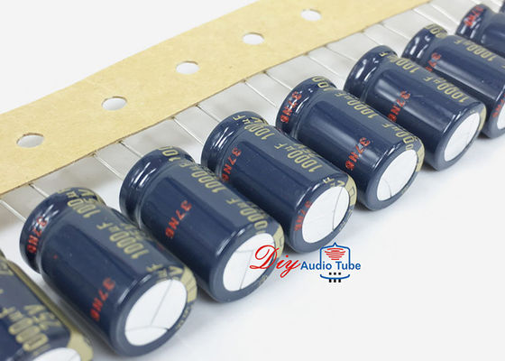 China Capacitores eletrolíticos da categoria audio de Panasonic FC 1000UF 25V para pre o amplificador do tubo do ampère fábrica