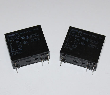 China Relé G2RG-2A4-5V 12V 24VDC do poder de Omron - 8A (Pin 6) fábrica